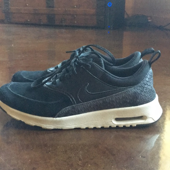 6fa9fedc03 Nike Shoes | Air Max Thea Suede Sneakers | Poshmark